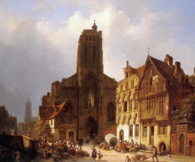 The market square in Brunswick :: Ambrose Vermerrsch - Architecture ôîòî