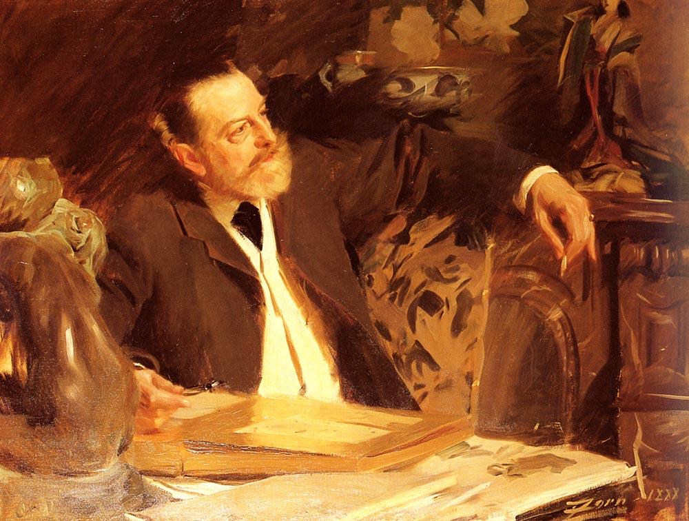 Antonin Proust :: Anders Zorn - men's portraits 19th century (second half) ôîòî