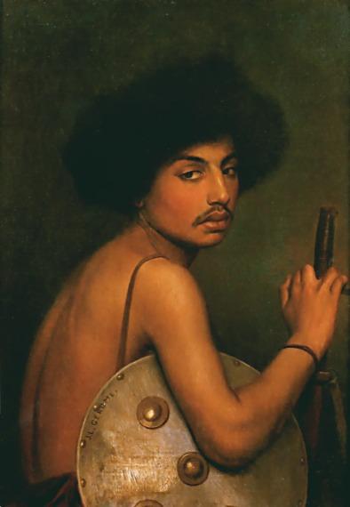 Bisharin Warrior :: Jean-Leon Gerome - scenes of Oriental life (Orientalism) in art and painting ôîòî