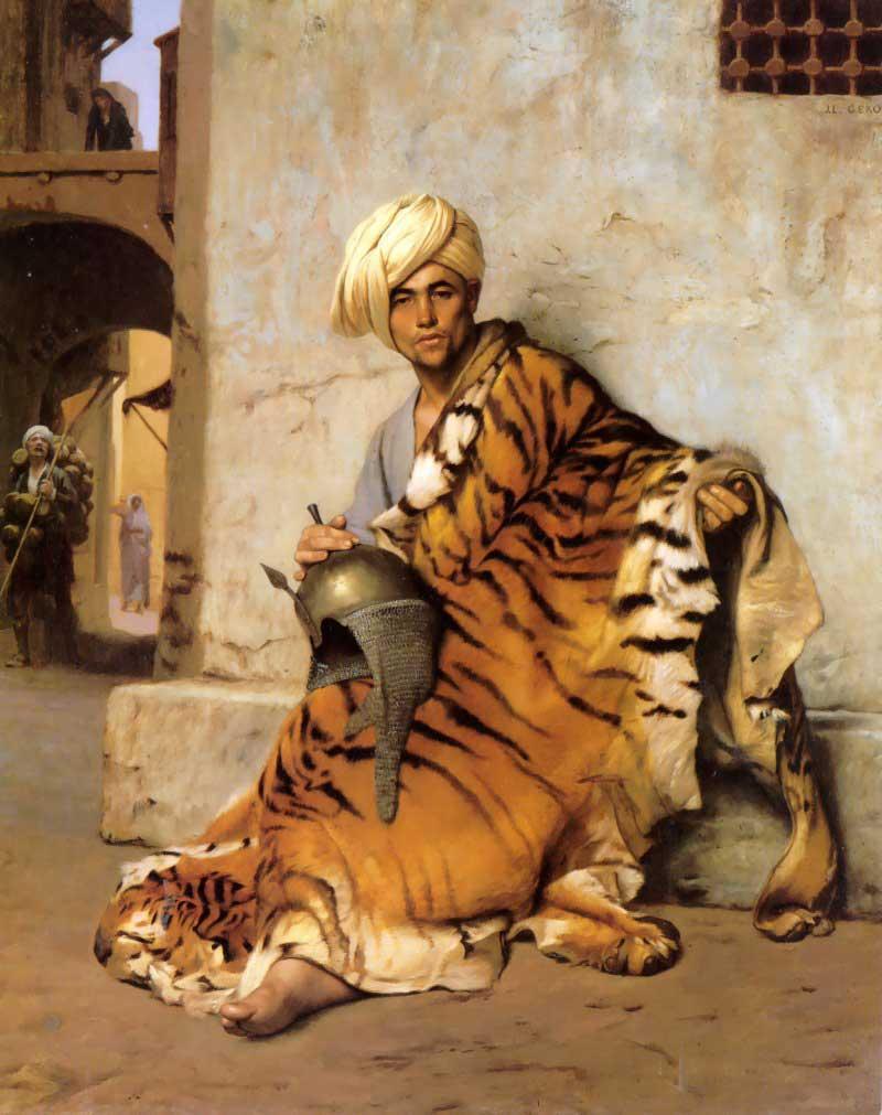 Pelt Merchant of Cairo :: Jean-Leon Gerome  - scenes of Oriental life (Orientalism) in art and painting ôîòî
