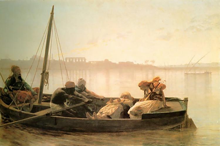 The Prisoner :: Jean-Leon Gerome - scenes of Oriental life (Orientalism) in art and painting ôîòî
