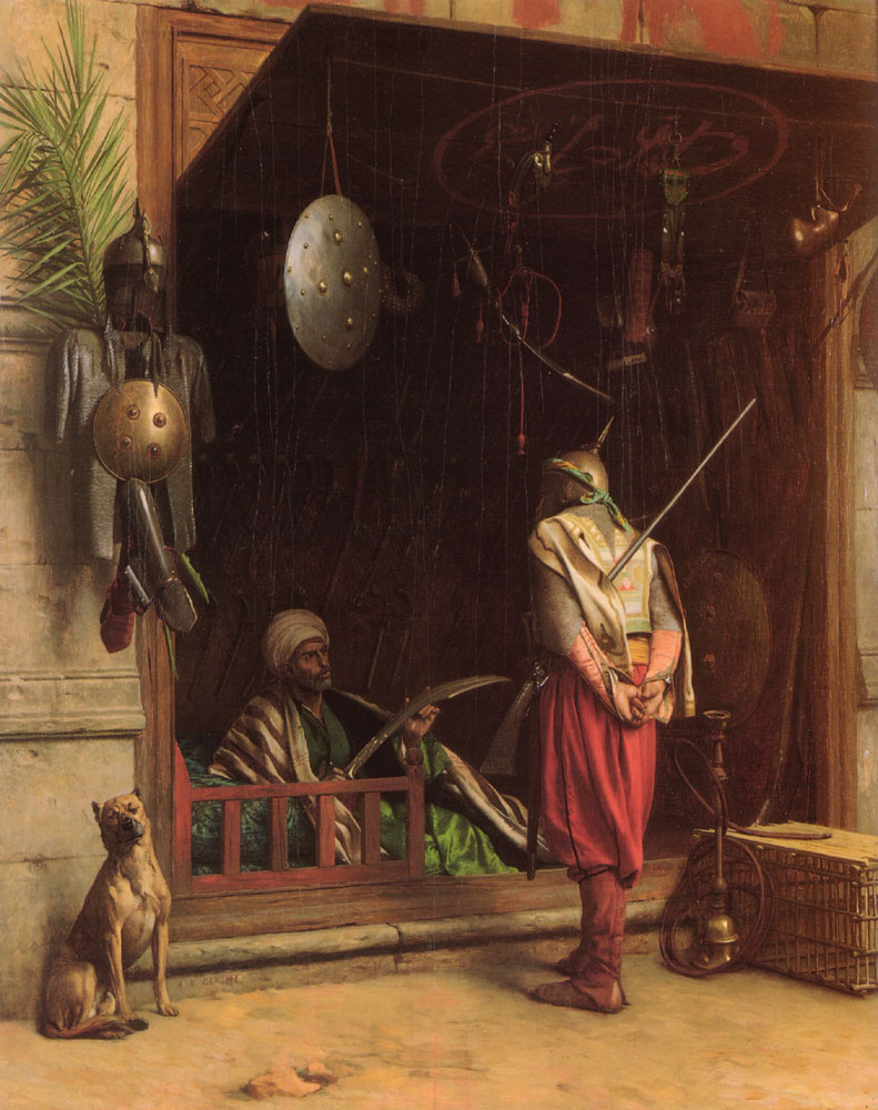 A Cairene Amorer :: Jean-Leon Gerome - scenes of Oriental life (Orientalism) in art and painting ôîòî