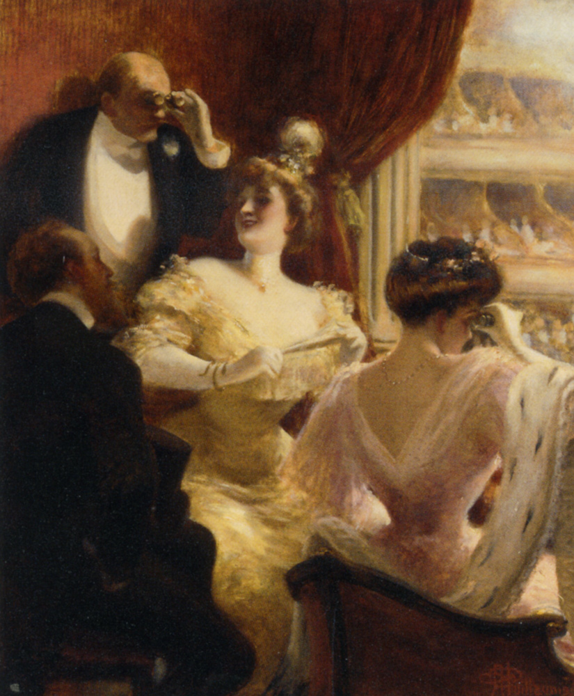Opera :: Albert Guillaume - Romantic scenes in art and painting ôîòî