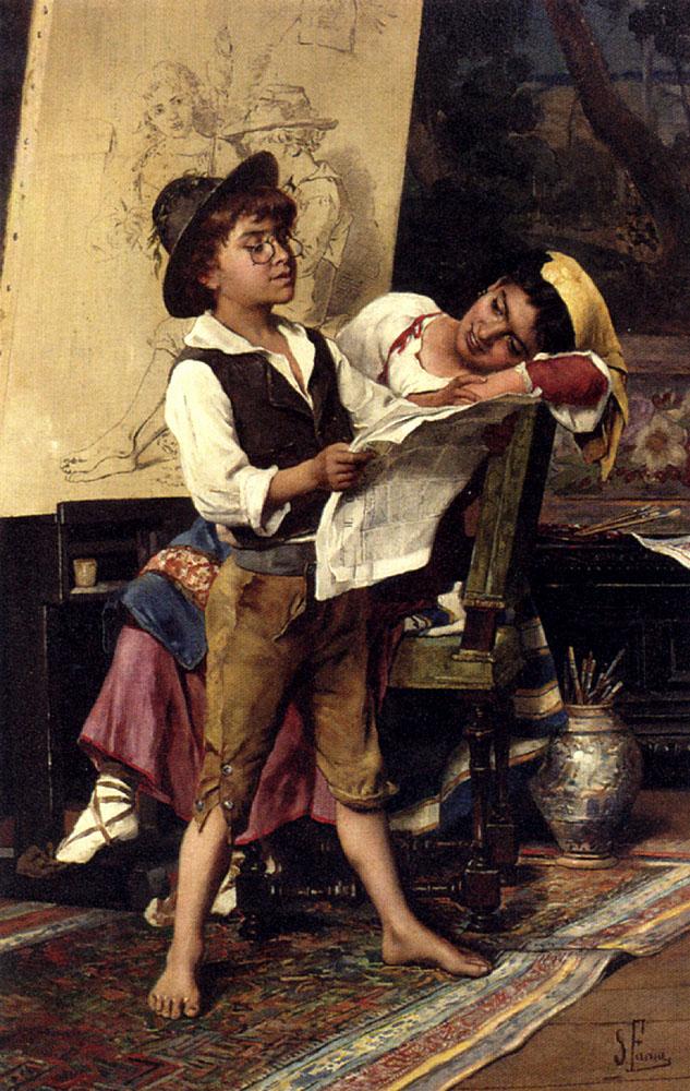 Mischievous Models :: Stefano Farneti - Children's portrait in art and painting ôîòî