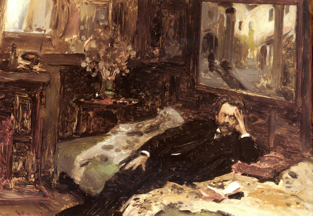 Portrait Of Karl Radnitsky :: Anton Romako - men's portraits 19th century (second half) ôîòî
