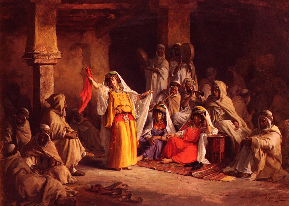 The Almeh :: Eugene-Alexis Girardet - scenes of Oriental life (Orientalism) in art and painting ôîòî