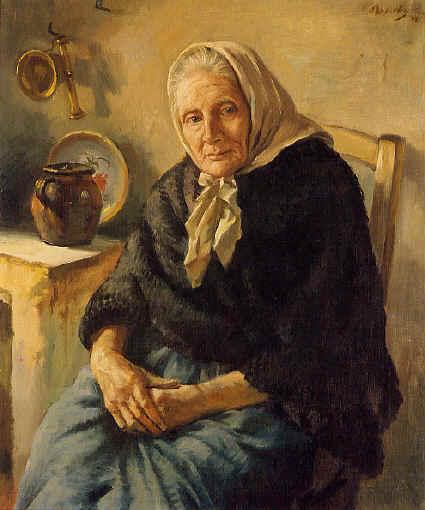 Abuelita :: George Owen Wynne Apperley - Portraits of women of advanced age ôîòî