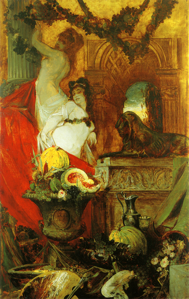 Allegory on the love of life :: Hans Makart - Allegory in art and painting ôîòî