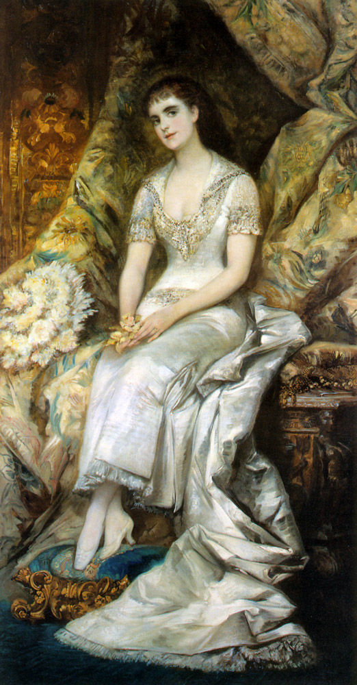 An Elegant Lady :: Hans Makart - 6 woman's portraits hall ( The middle of 19 centuries ) in art and painting ôîòî