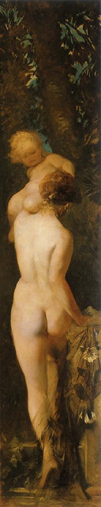 Feeling ( The Five Senses ) :: Hans Makart - Allegory in art and painting ôîòî