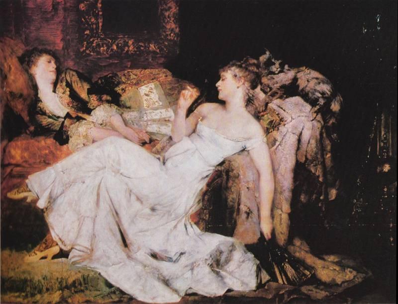 Marble Heart :: Hans Makart [ Marmorherzen ] - Romantic scenes in art and painting ôîòî