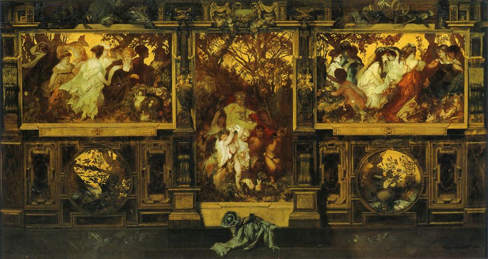Modern Cupids :: Hans Makart - Allegory in art and painting ôîòî