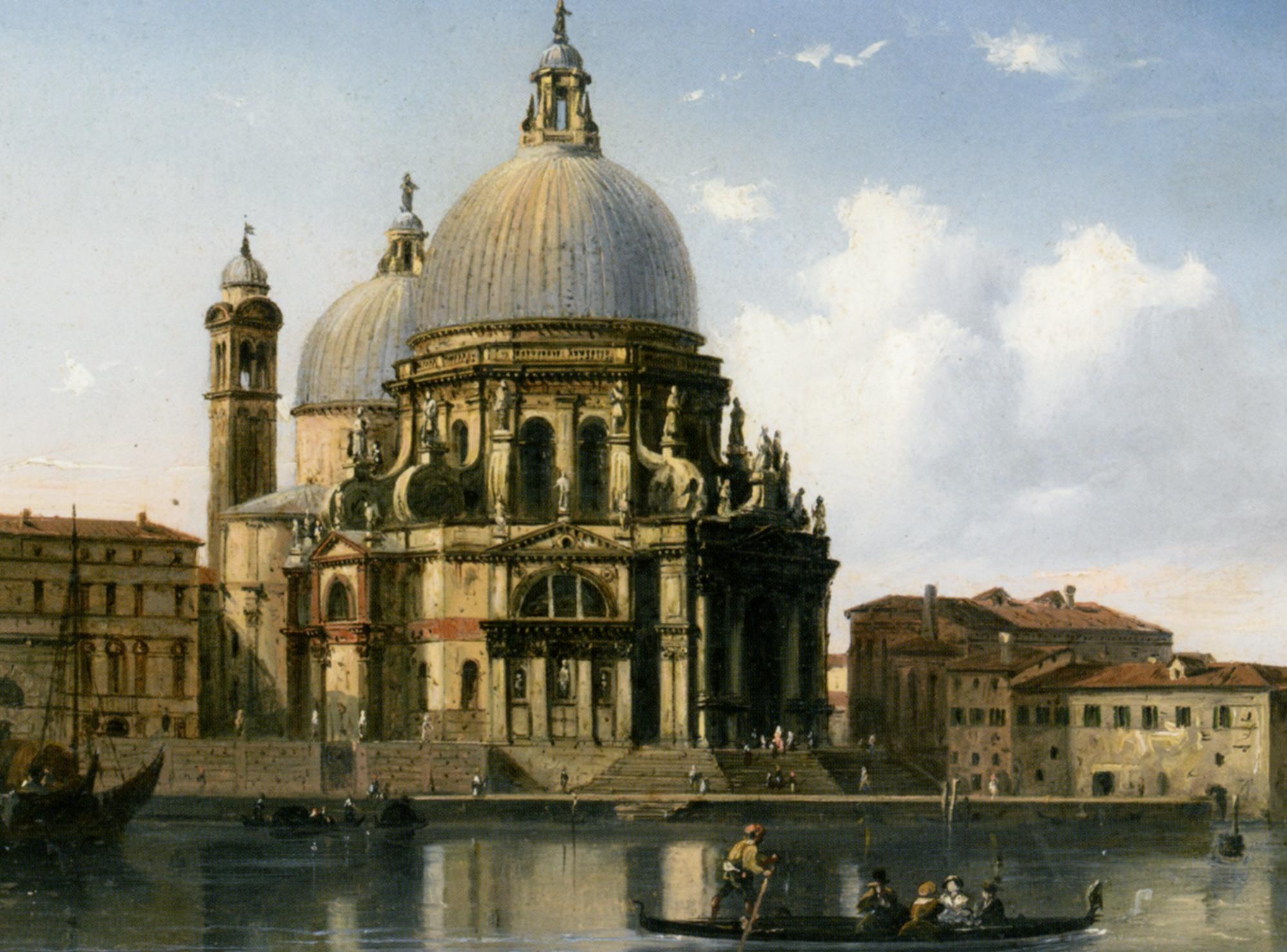 Santa Maria Della Salute Venice Carlo Bossoli Venice