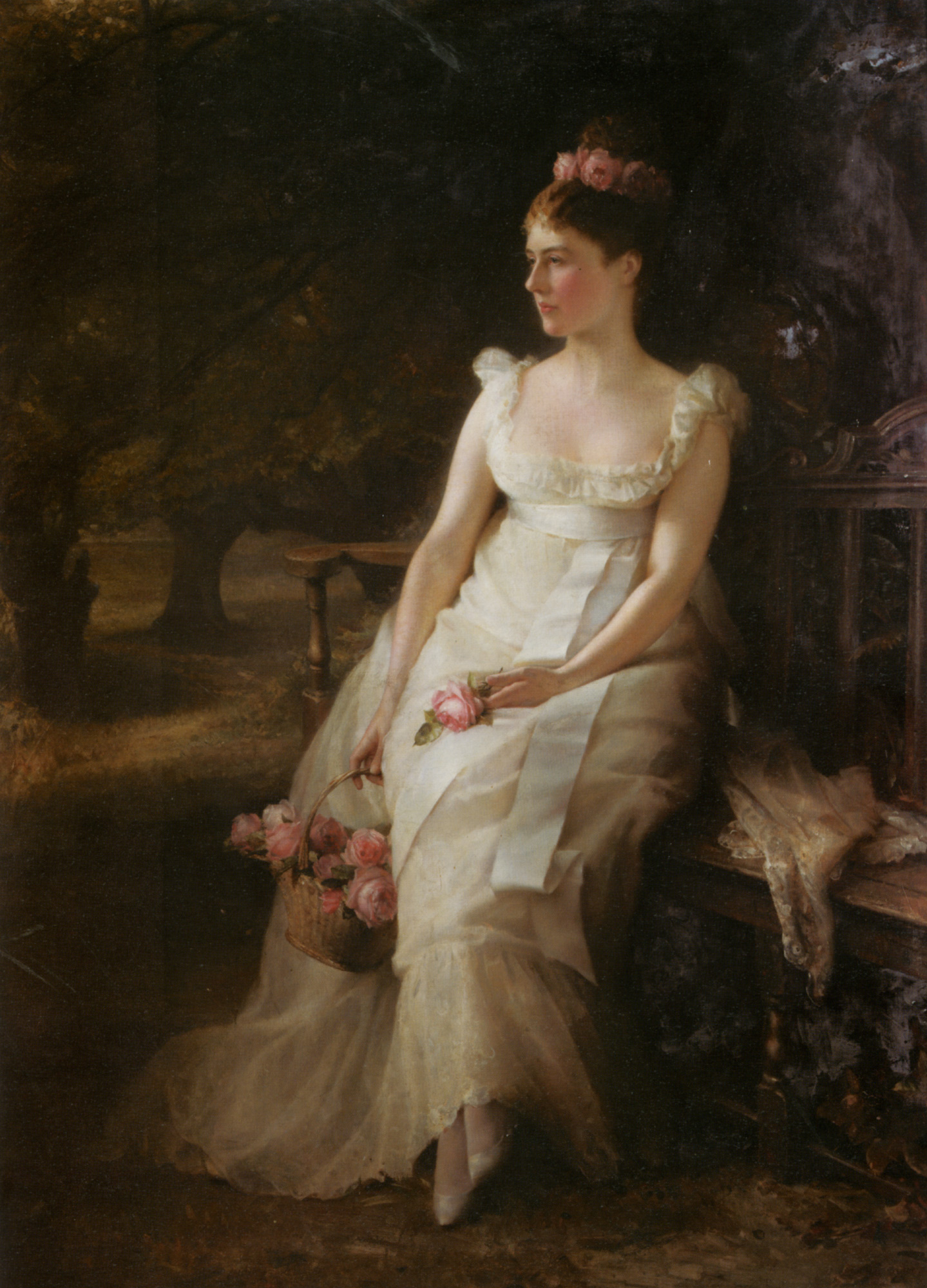 The sorrow and roses :: Edward Hughes - 7 female portraits ( the end of 19 centuries ) in art and painting ôîòî