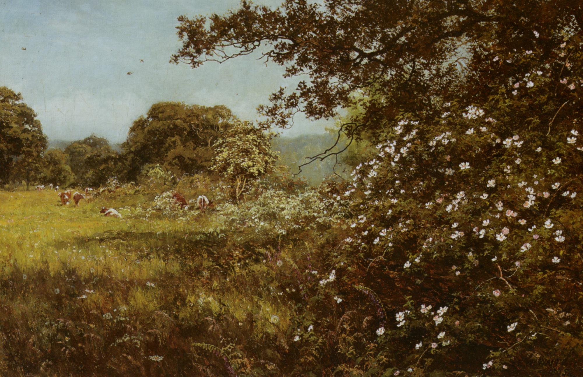 Early Summer :: Edward Wilkins Waite - Summer landscapes and gardens ôîòî