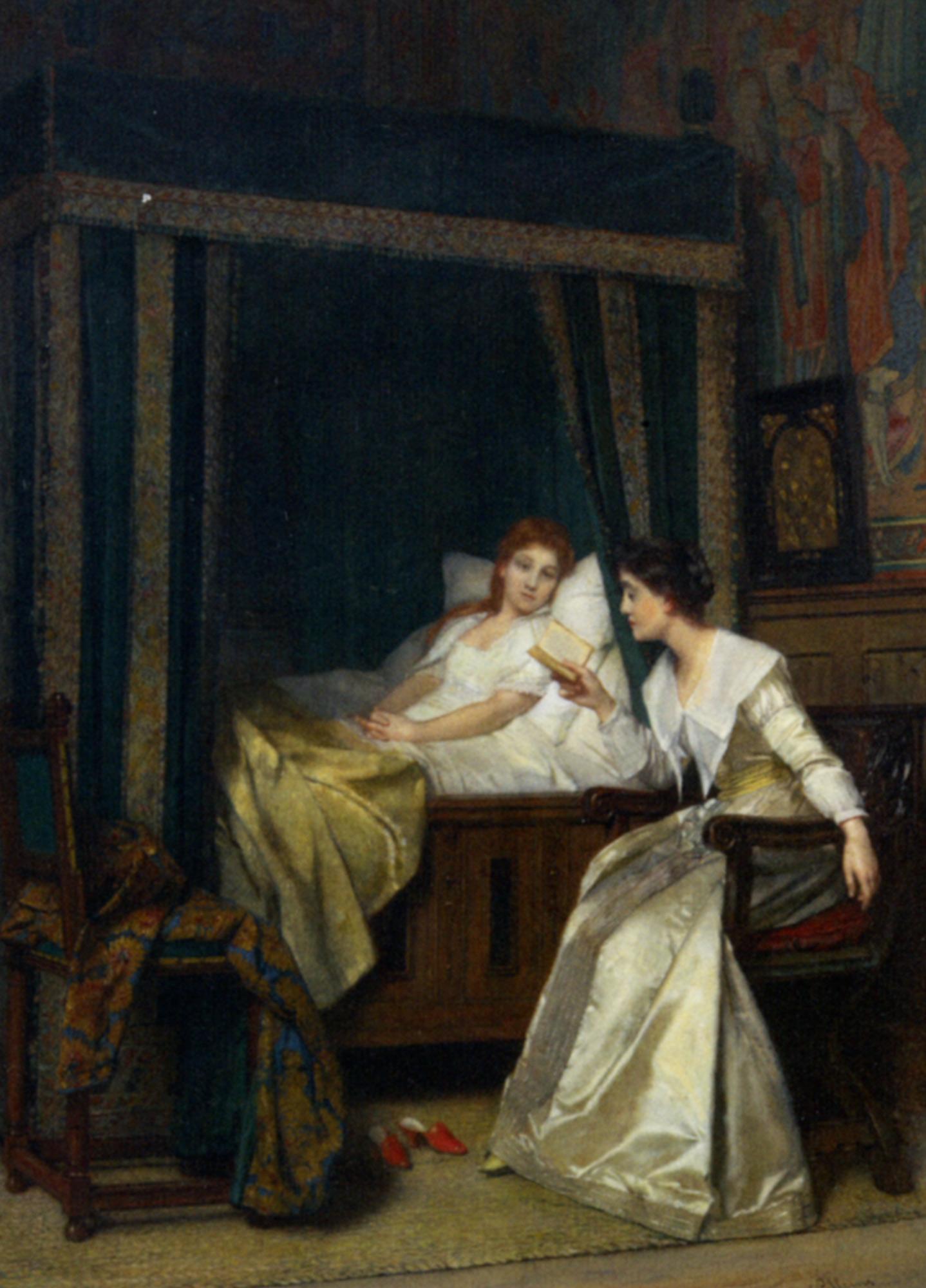 The Reader :: Florent Willems - Rich interiors ôîòî