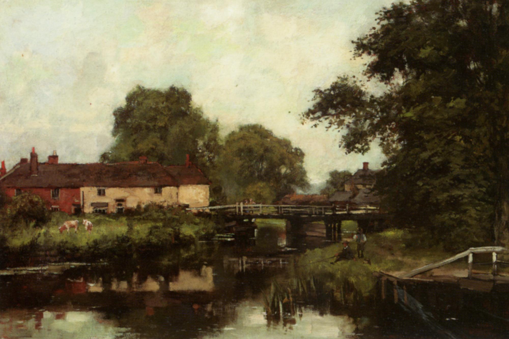 Woolhampton on the Kennet :: Henry John Yeend King  - Rural houses ôîòî