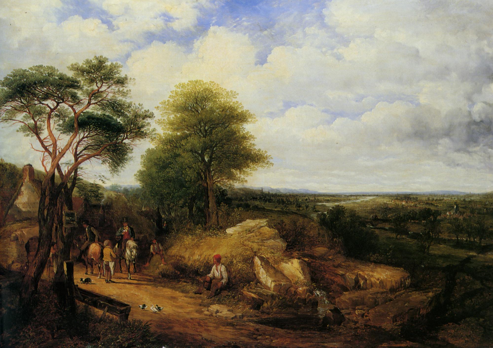 At The Old Fir Tavern on the Derwent Derbyshire :: James Holland - Village life ôîòî