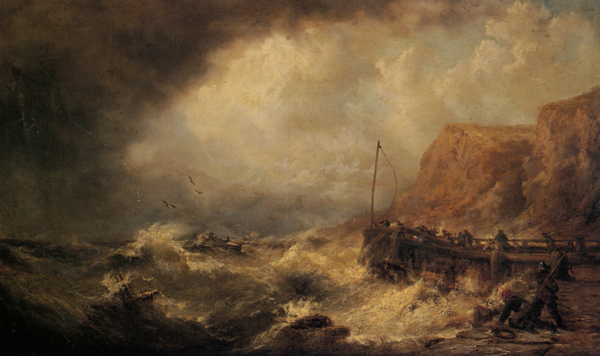Shipwrecked :: James Webb - Sea landscapes with ships ôîòî