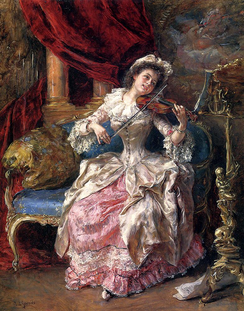 A Musical Afternoon :: Eduardo Leуn Garrido - Rich interiors ôîòî