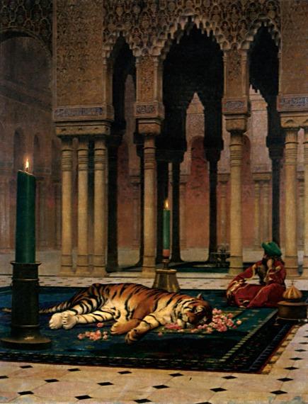 The Grief of the Pasha (Variant) :: Jean-Leon Gerome - Rich interiors ôîòî