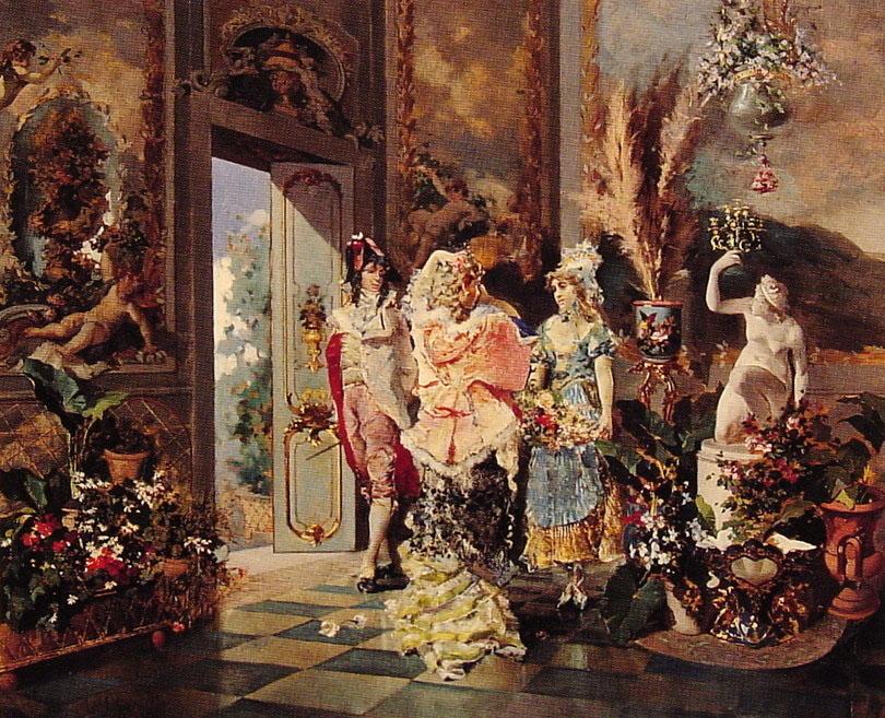 Rococo Manners :: Juan Antonio Gonzalez - Rich interiors ôîòî