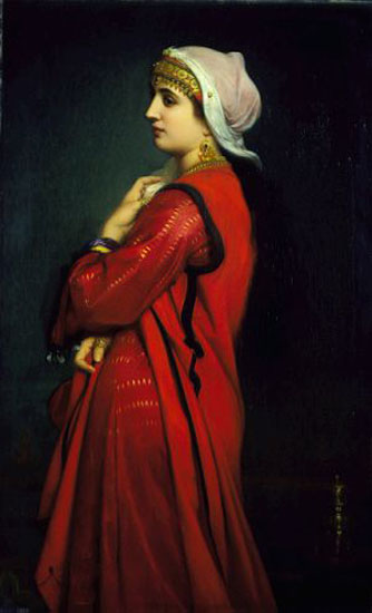 An Armenian Woman :: Charles Zacharie Landelle - 6 woman's portraits hall ( The middle of 19 centuries ) in art and painting ôîòî