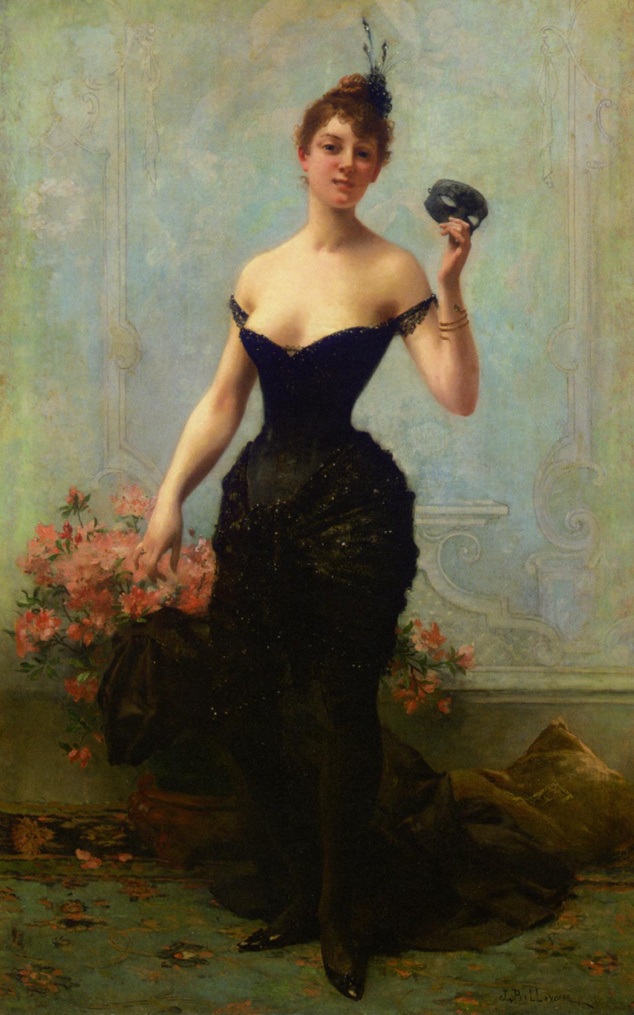 The Ball Mask :: Jules Frederic Ballavoine - Balls and receptions ôîòî