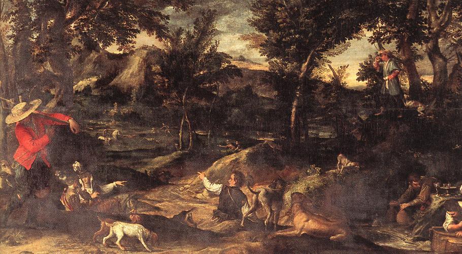 Hunting :: Annibale Carracci - Hunting scenes ôîòî