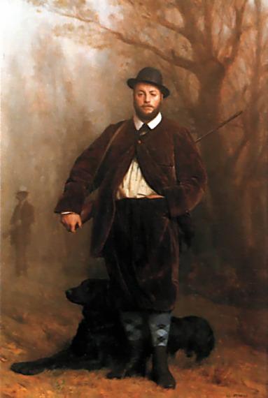 Portrait of Eduoard Delessert  :: Jean-Leon Gerome  - Hunting scenes ôîòî