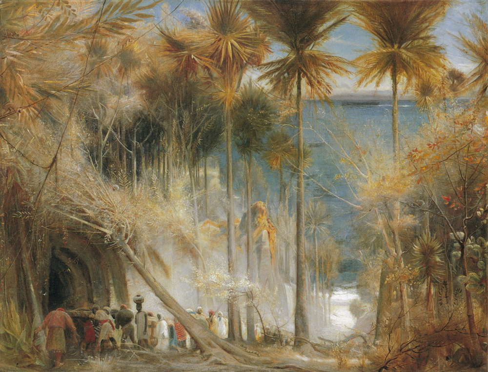Ali Baba abd the Forty Thieves :: Albert Goodwin - mythology and poetry ôîòî