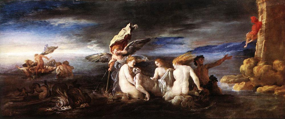 Hero and Leander :: Domenico Feti - mythology and poetry ôîòî