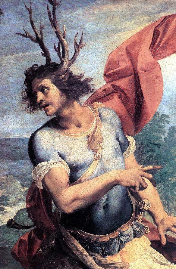Diana and Actaeon (detail 2) :: Giuseppe Cesari - mythology and poetry ôîòî