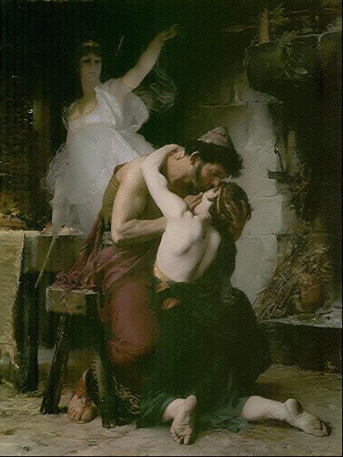 Reunion of Odysseus and Telemachus :: Henri-Lucien Doucet - mythology and poetry ôîòî