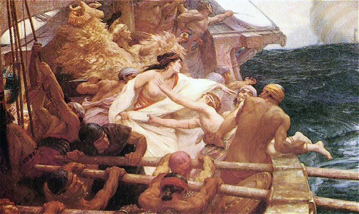 The Golden Fleece :: Herbert James Draper - mythology and poetry ôîòî