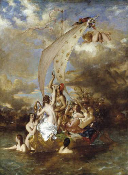 Youth at the Prow, Pleasure at the Helm :: William Etty - Allegory in art and painting ôîòî