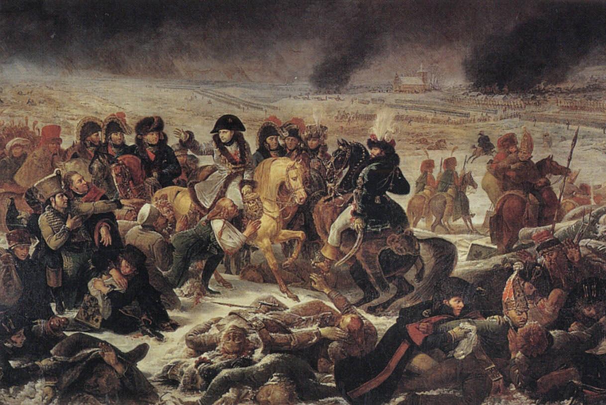 Napoleon on the Battlefield of Eylau :: Antoine-Jean Gros - History painting ôîòî