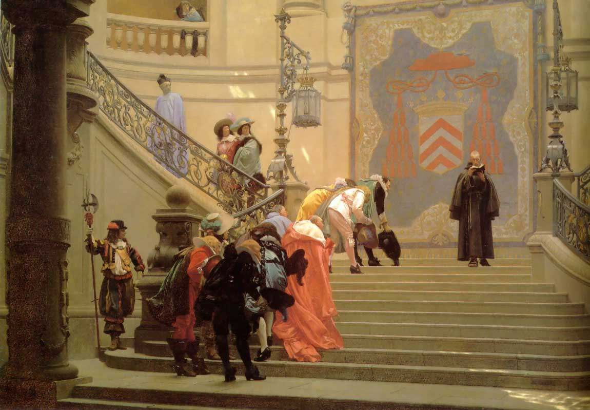 The Grey Cardinal :: Jean-Leon Gerome - History painting фото: http://www.fineartlib.info/gallery/p17_sectionid/60/p17_imageid/1880