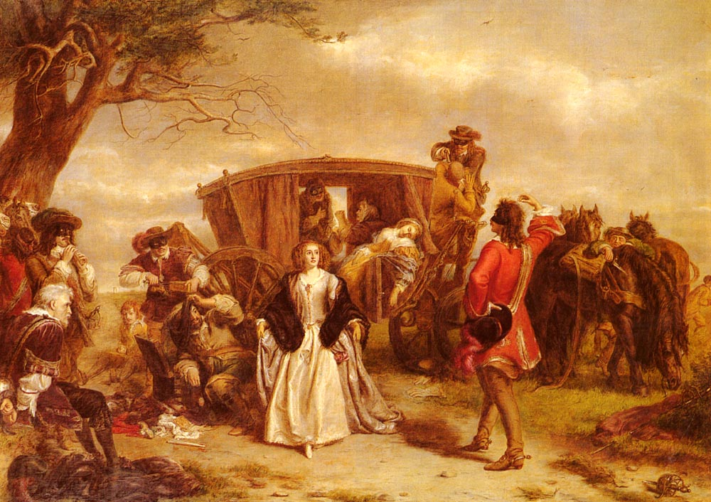 Claude Duval :: William Powell Frith - History painting ôîòî