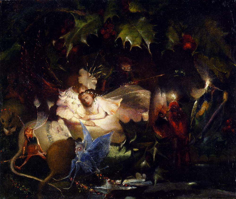 The Fairy Bower :: John Anster Fitzgerald - Fantasy in art and painting ôîòî