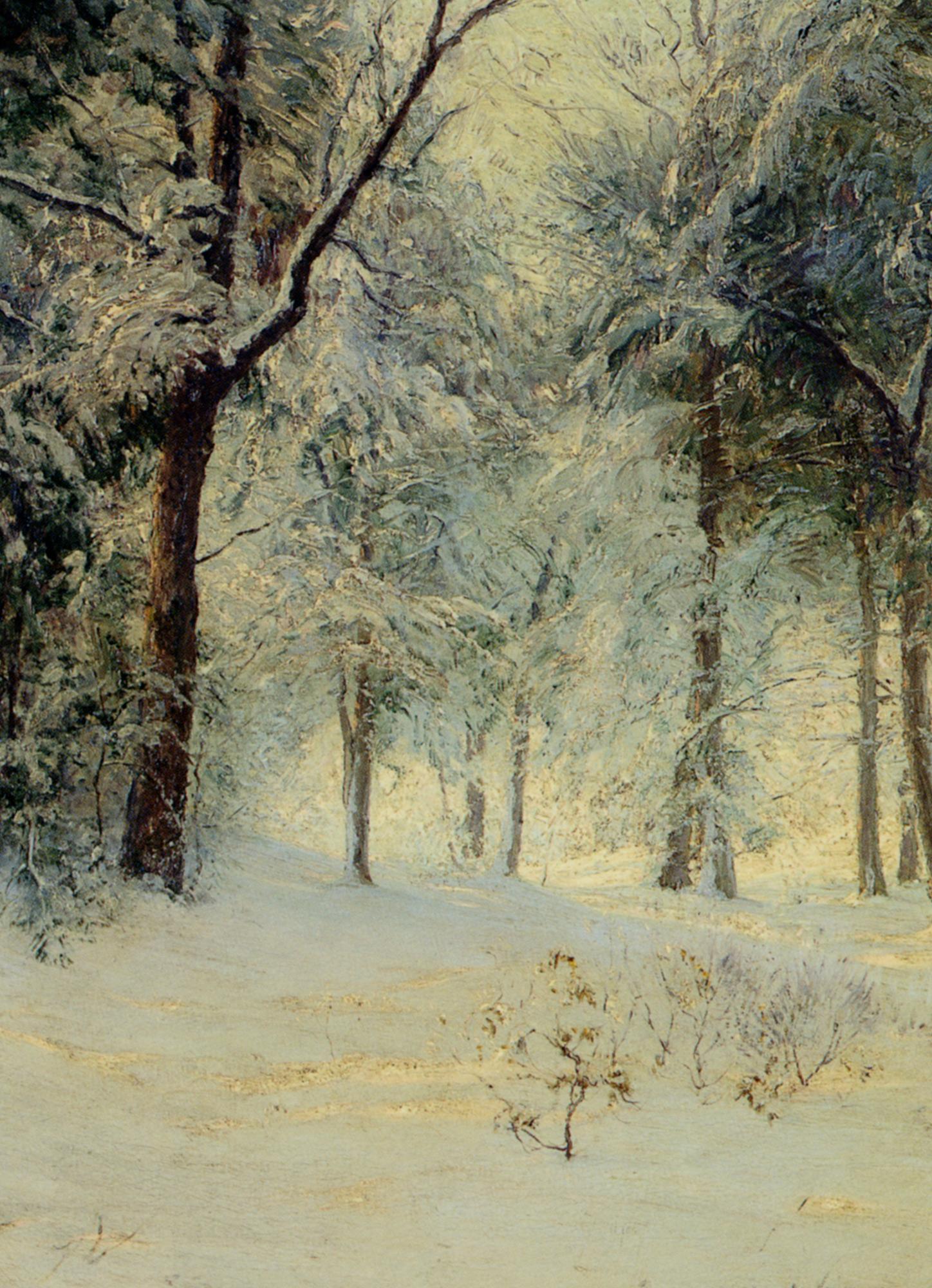 Sunshine After a Snowstorm :: Walter Launt Palmer - winter landscapes ôîòî