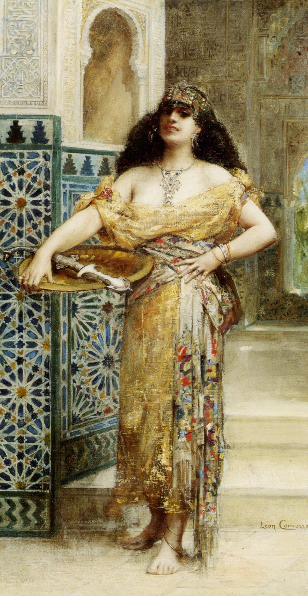 Judith :: Leon Francois Comerre - Bible scenes in art and painting ôîòî