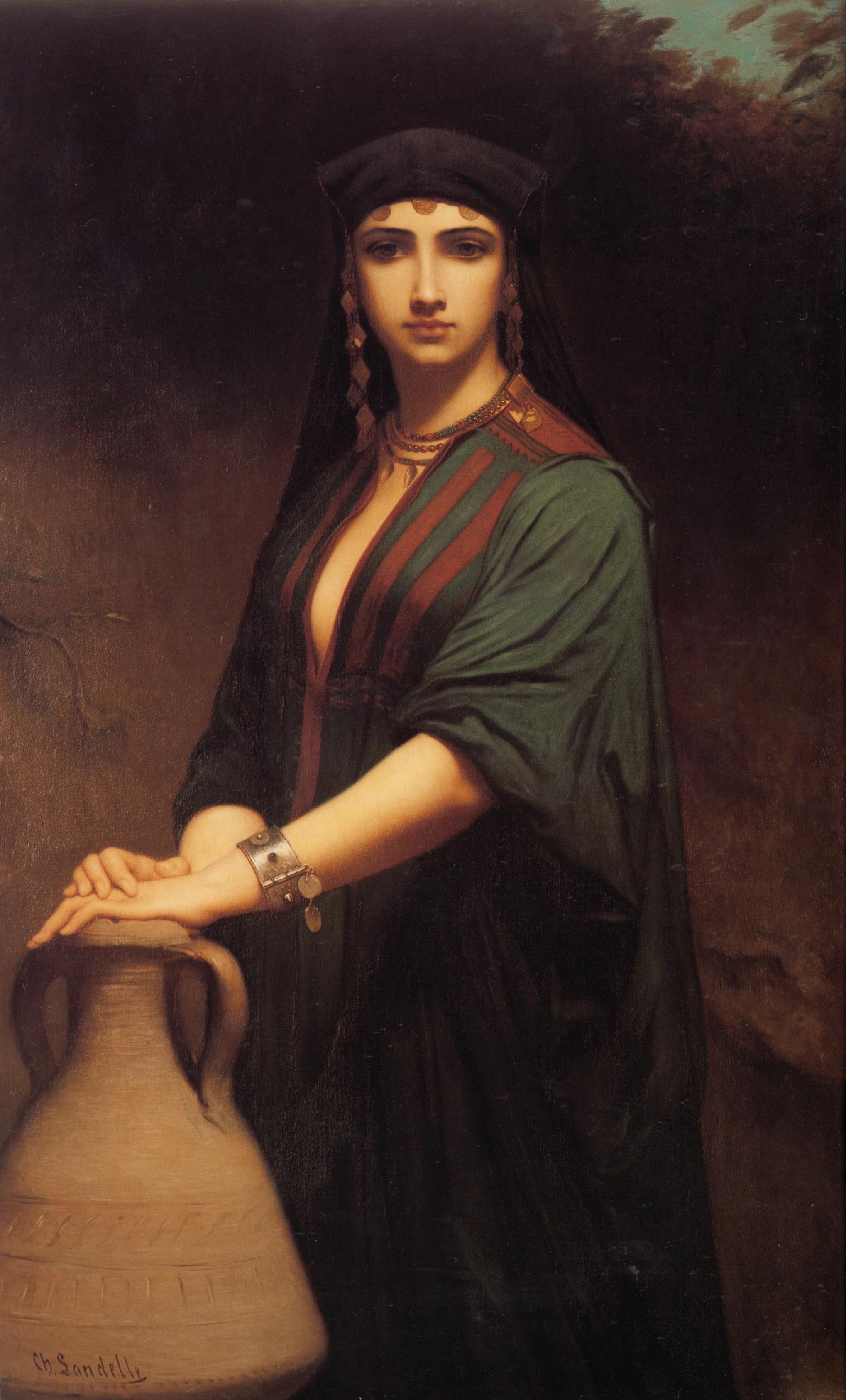 Female Fellah :: Charles Zacharie Landelle - Antique beauties in art and painting ôîòî