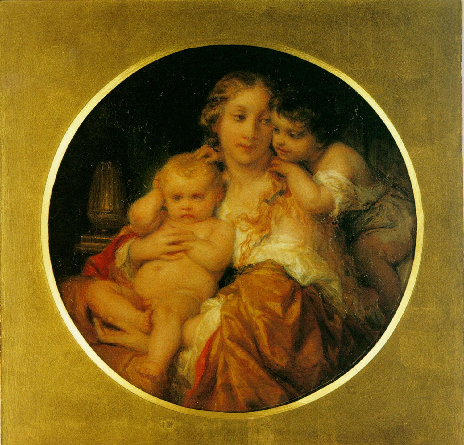 Mother and Child :: Paul Delaroche  - Woman and child in painting and art ôîòî