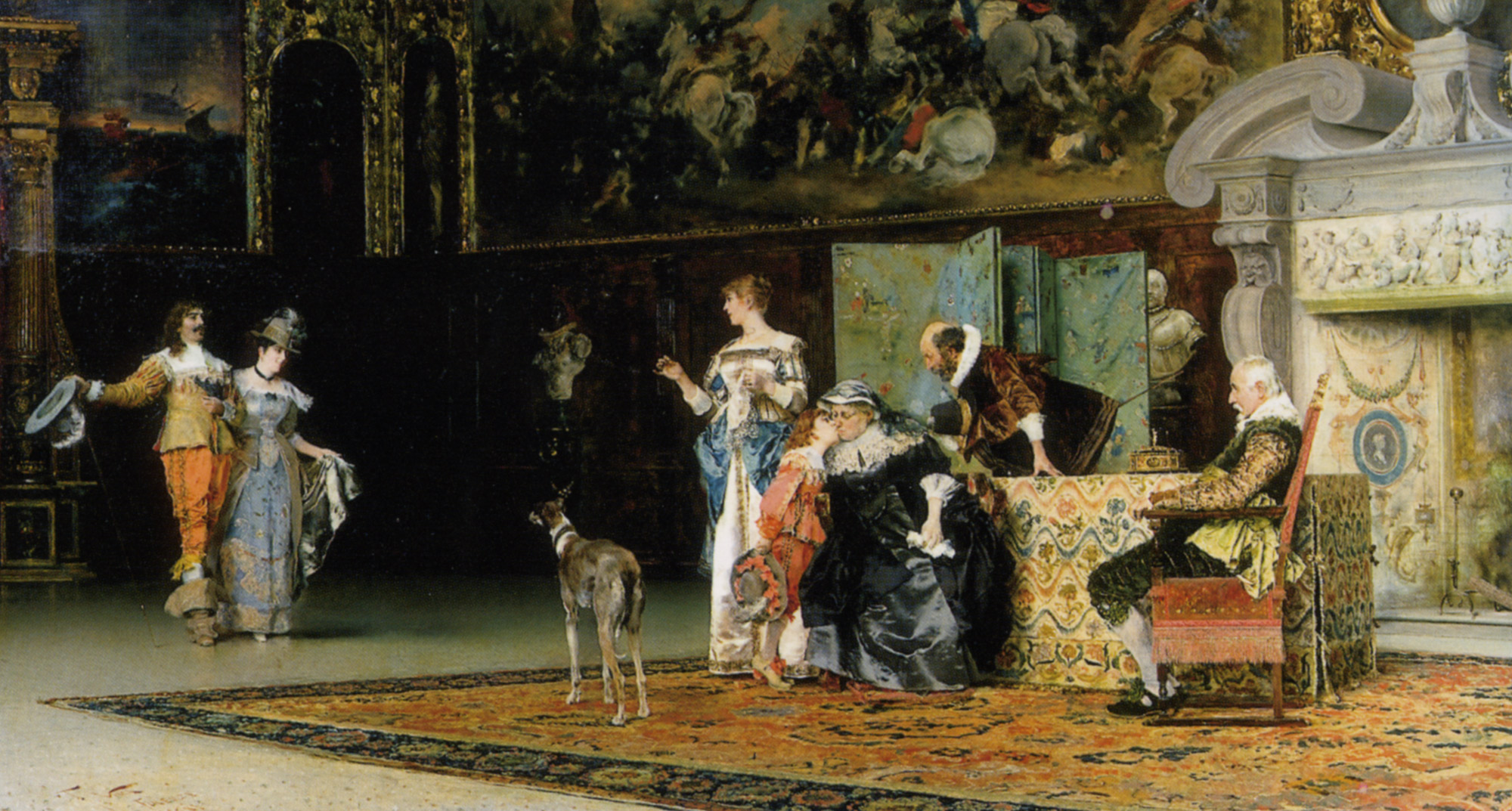 Grandmothers Visit :: Francesco Vinea - Rich interiors ôîòî