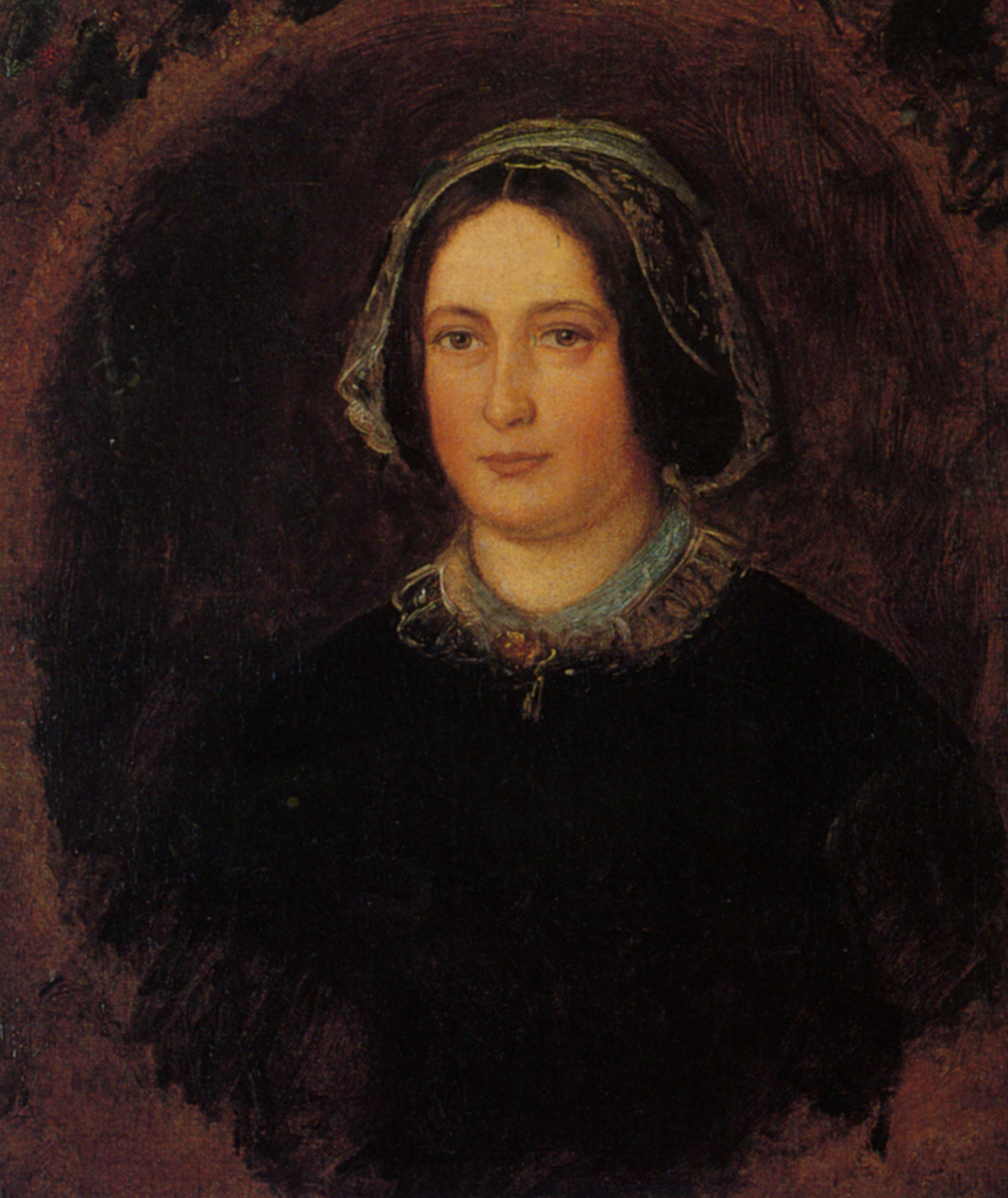 Portrait of Mrs William Evamy The Artists Aunt :: John Everett Millais  - 7 female portraits ( the end of 19 centuries ) in art and painting ôîòî