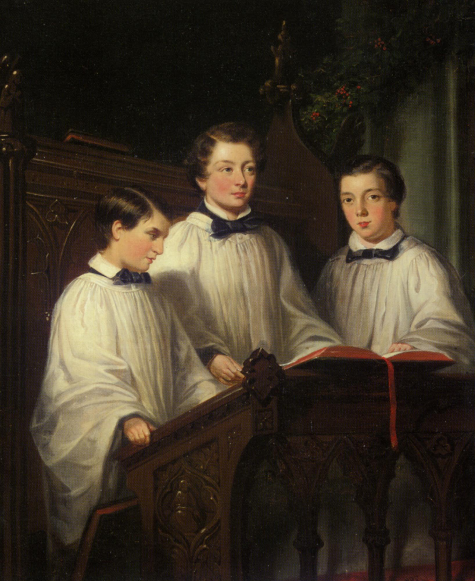 Charity  :: Joseph Clark - Portraits of young boys ôîòî