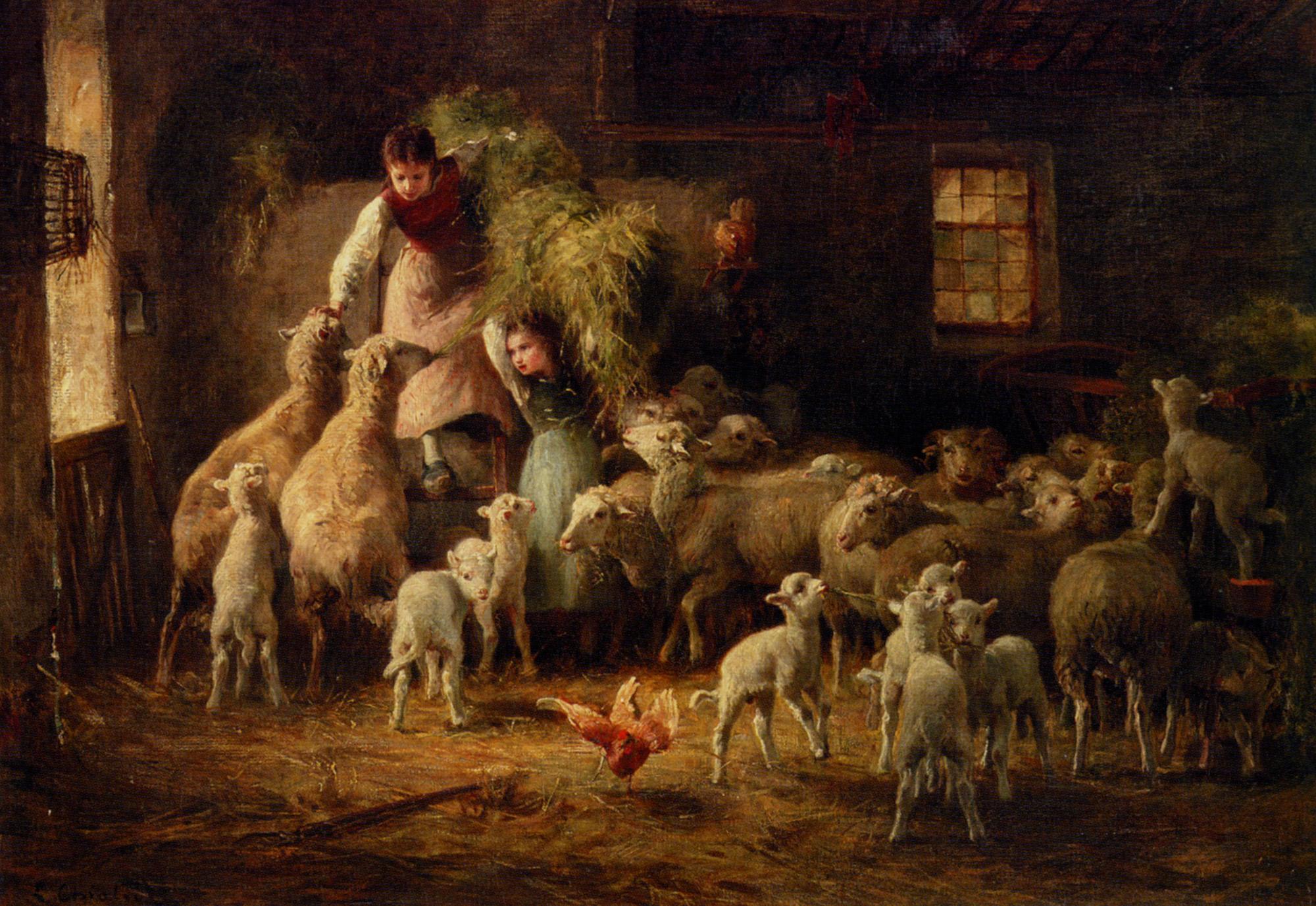 Feeding Time :: Luigi Chialiva - Village life ôîòî