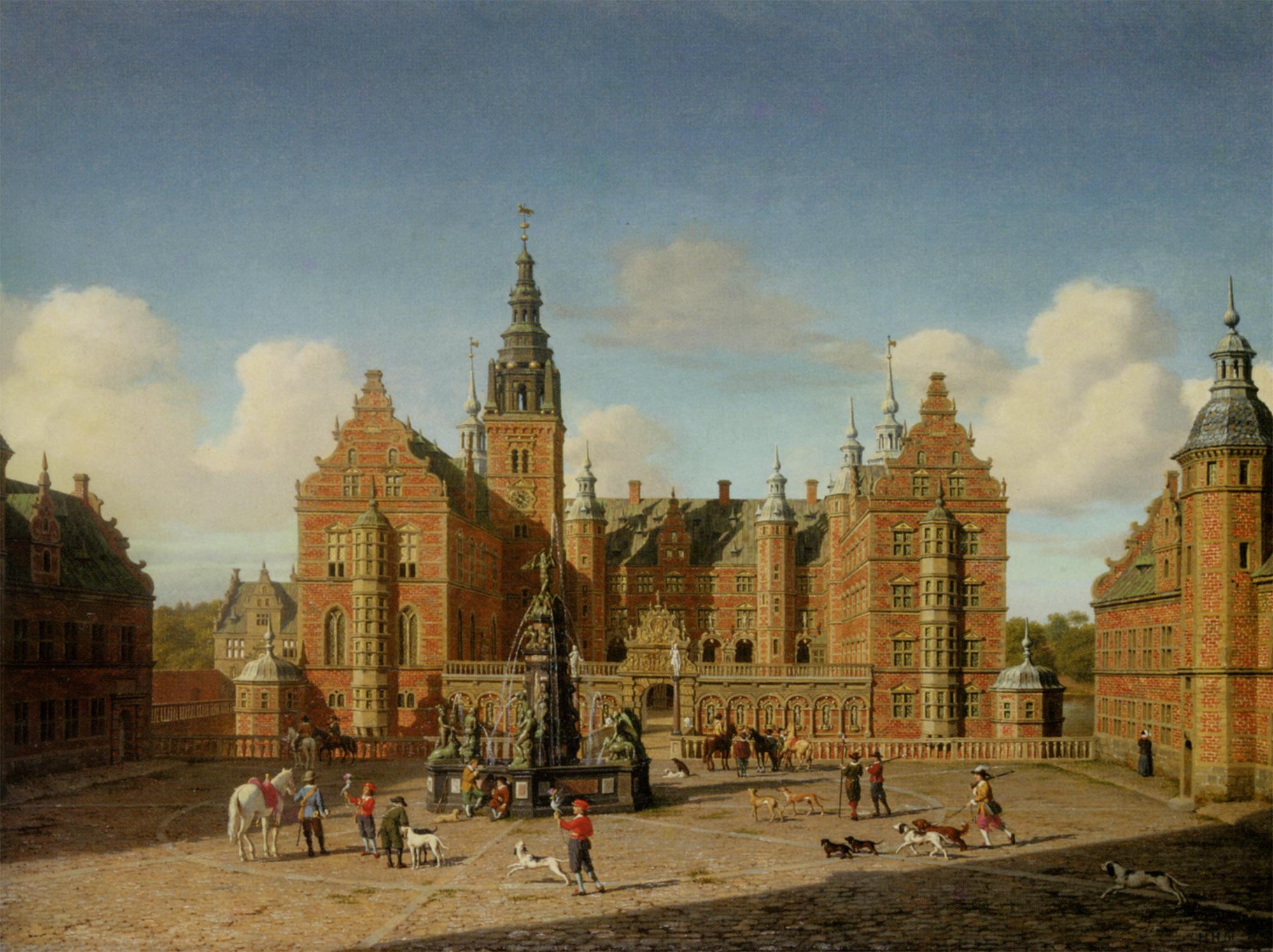 Frederiksborg Slot :: Heinrich Hansen  - Architecture ôîòî