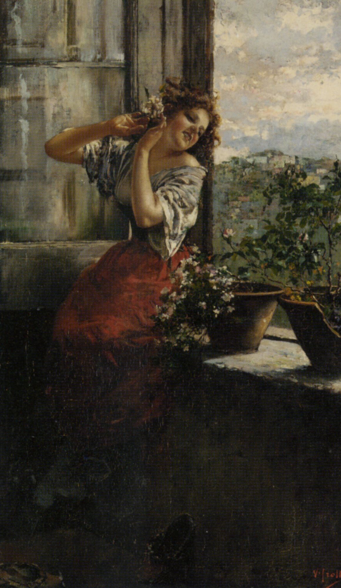 Distant Thoughts :: Vincenzo Irolli - Romantic scenes in art and painting ôîòî